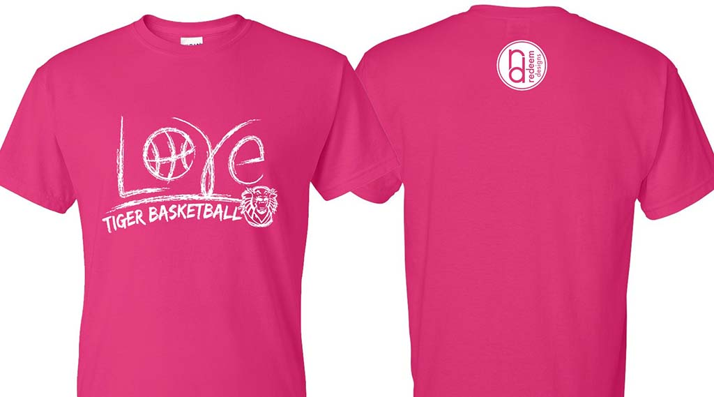 FHSU Women s Basketball Selling Pink T-Shirts in Support of Breast Cancer  Awareness 2d75b45bf6