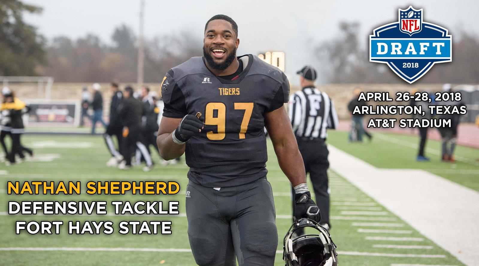 02d5c034d Shepherd Looks to Become Third FHSU Player Chosen in the NFL Draft ...